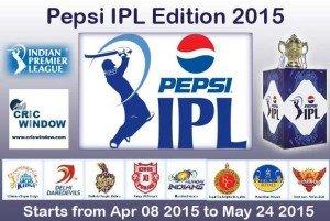 Pepsi IPL 2015