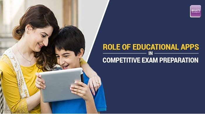 Role of educational apps in competitive exam preparation